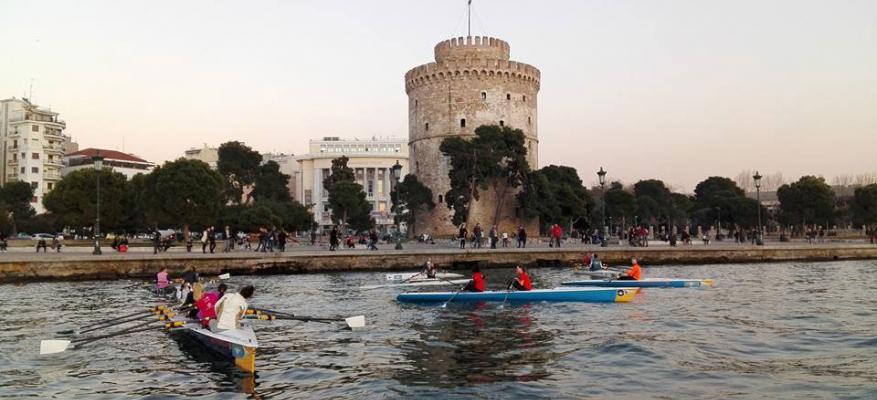 Παράκτια κωπηλασία, coastal rowing, ΟΦΘ, ΘεσσαλονίκηΠαράκτια κωπηλασία