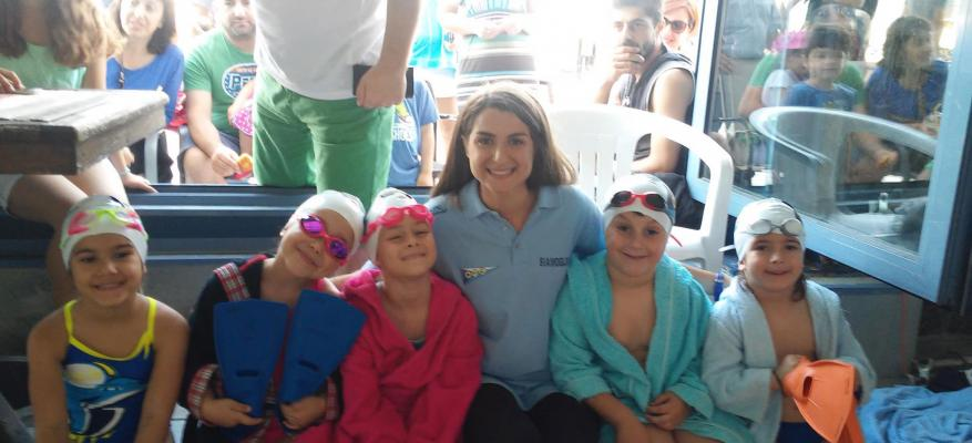 Τμήμα εκμάθησης κολύμβησης