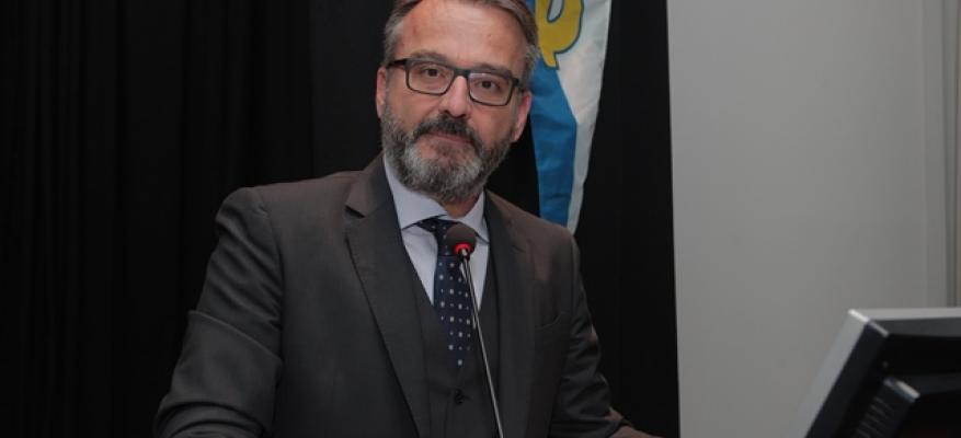 Πρόεδρος ΔΣ ΟΦΘ κος Λεωνίδας Αθανασιάδης