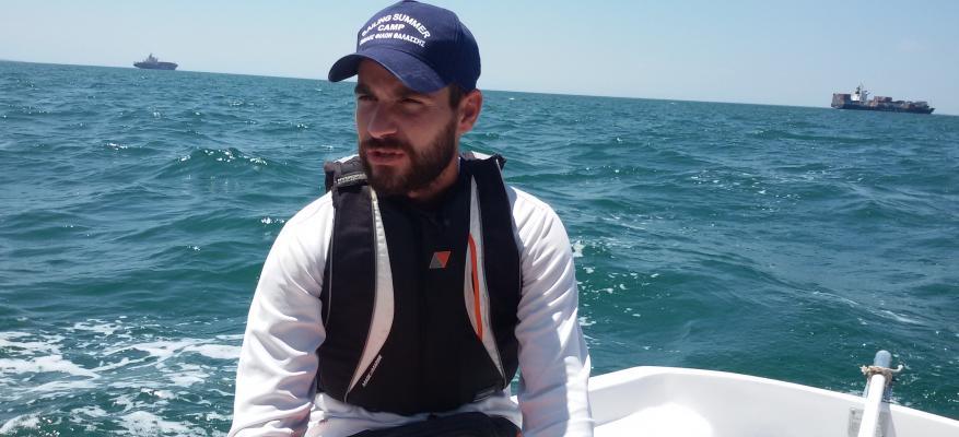 Φώτης Σταυρίδης, προπονητής Ιστιοπλοίας ΟΦΘ