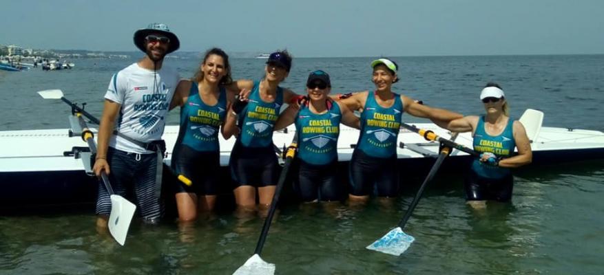 Coastal rowing club συμμετοχή στους αγώνες πρόκρισης Περαία