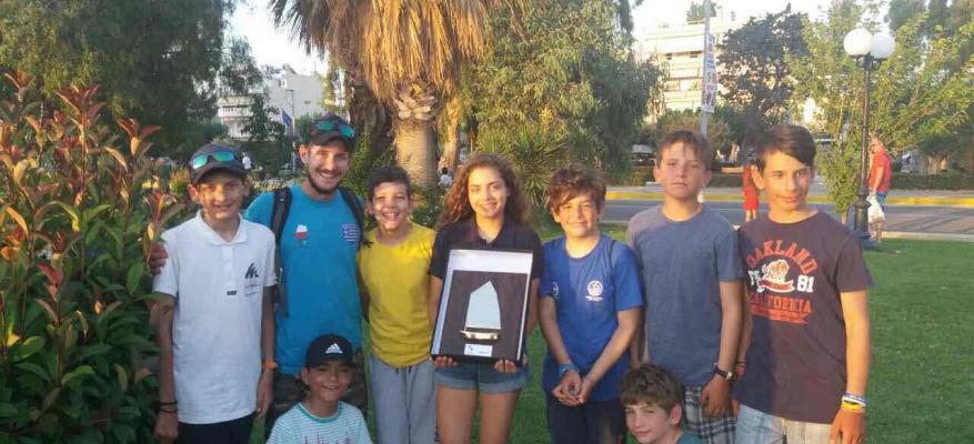 Πετυχημένη η εμφάνιση της ομάδας optimist του ΟΦΘ στο Πανελλήνιο Πρωτάθλημα Optimist 2017